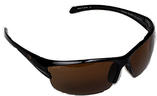 Naute Sport - The Baxter - Lightweight, Hi-Def, Polarized and Anti-fog Sunglasses (Black, - Sunglasses Def High