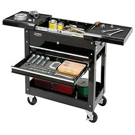 27'' 2-Drawer Tool Cart W/ Sliding Top by Global Industrial