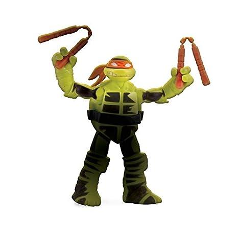 Figura de acción de las Tortugas Color Cambio Mikey: Amazon ...