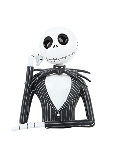 The Nightmare Before Christmas Jack Skellington Bust Bank