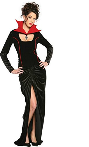Cinema Secrets Womens Spider Widow Theme Party Fancy Dress Halloween Costume, Medium (10-12) ()