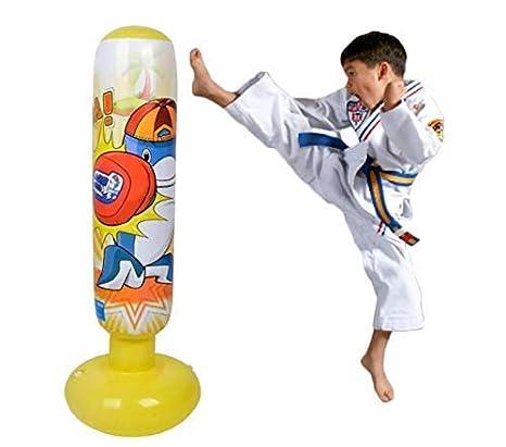 Mapow - Saco de boxeo hinchable para niños (versión mejorada ...