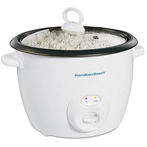 Hamilton Beach 10-Cups uncooked resulting in 20-Cups Cooked Capacity Rice Cooker, White (37532N) - Hamilton Beach Rice