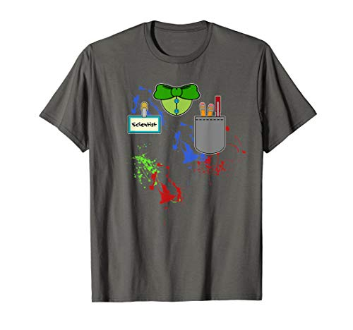 Halloween Mad Scientist Matching Group Costume T-Shirt]()