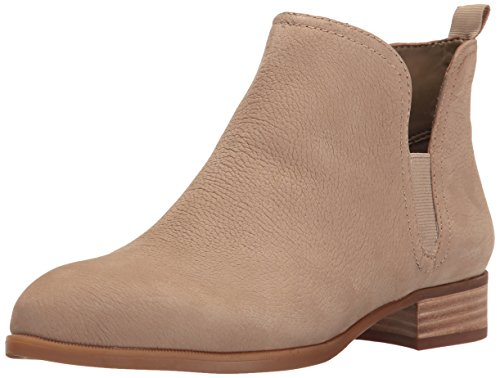 Nine West Women's Nesrin Leather Boot, Taupe, 6 M US