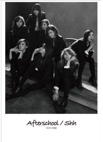 CD : After School - Shh (Hong Kong - Import)