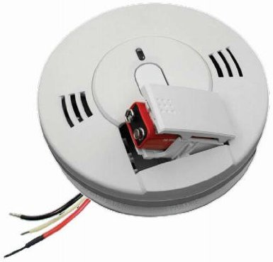 4 Wire Photoelectric Detector - Kidde 21007624 AC Wire-in Combo CO/Photo Smoke Alarm (4 Pack)