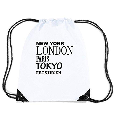 JOllify FRISINGEN Turnbeutel Tasche GYM4029 Design: New York, London, Paris, Tokyo