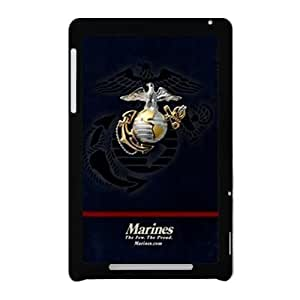Marine Corps Metal Pattern Anchor Google Nexus 7 Case Shell Cover (Laser Technology)