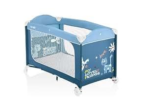 Brevi 811Cuna Dolce dormir Plus c/Kit Doble Altura Blu/Azzurro