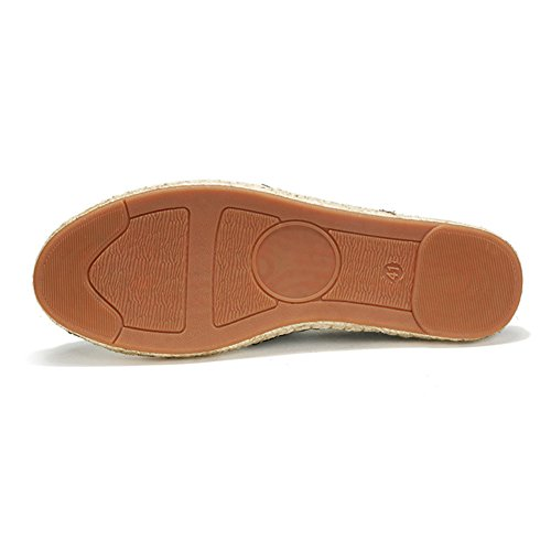Cinese Comfort Espadrillas Moda Tela blackred Scarpe di Basse Unisex gpWWx7Ina