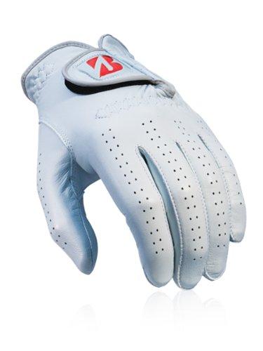Bridgestone Golf Men's Tour Premium Glove, White, Left Hand, Medium/Large