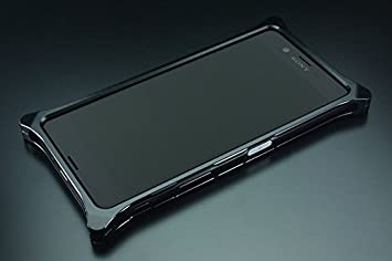 9237f78cec Amazon   GILD design ソリッドバンパー for Xperia XZ (ブラック ...