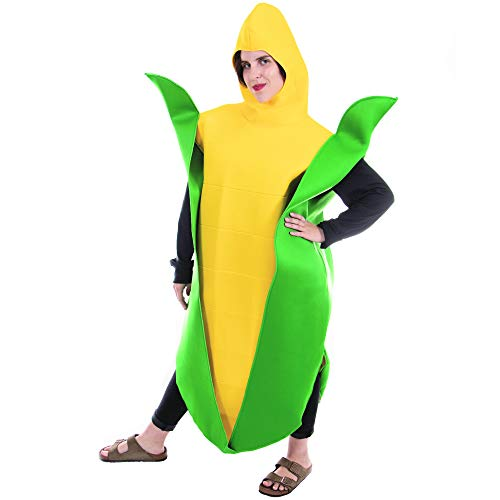 Boo Inc. Golden Corn Cobb Halloween Costume | Funny Food, Adult One-Size Unisex ()