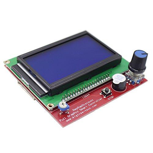 CHANGTA LCD 12864 Graphic Smart Display Controller Module for RAMPS 1 4  RepRap 3D Printer Mendel Prusa Arduino