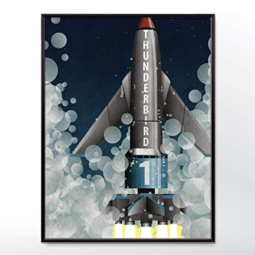 Thunderbird 1 Rocket Space -