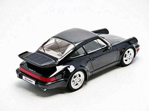 Gt Spirit - GT105 - Porsche 964 Turbo 3.6 - 1993 - Escala 1/18 - Azul Noche Metal: Amazon.es: Juguetes y juegos
