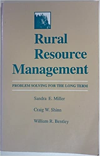 Rural Resource Management: Problem Solving for the Long Term