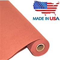 """Pink Butcher Kraft Paper Roll 17.75"""" x 1200"""" (100ft), Food Grade Butchers Peach Paper, Ideal for BBQ Smoking Wrapping of Meat and Brisket, All Natural Unwaxed, Unbleached, Uncoated, Made in USA"""