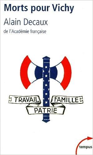 En ligne téléchargement Morts pour Vichy pdf, epub ebook