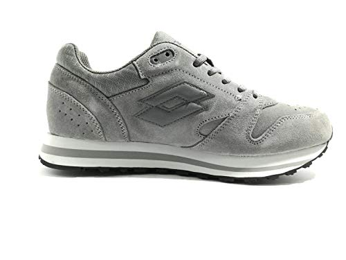 Sue Asphalt Sneakers Life's Grey Trainer XII CEM Lotto Uomo Grigio T6502 Man By qqwfXS