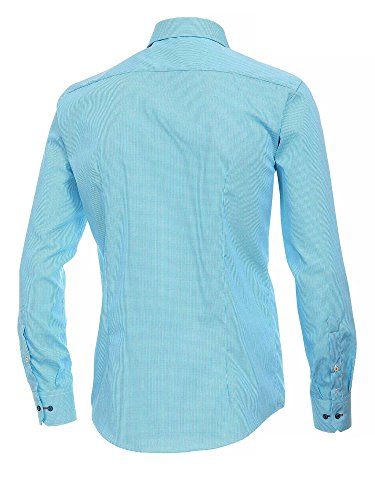 Venti 1860 - Camisa vestir para hombre turquesa