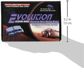 Power Stop 16-536 Z16 Evolution Rear Ceramic Brake Pads
