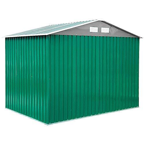 Casita Box Jardín Exterior Chapa galvanizada rispostiglio 201 x 181 x H190 Classic M: Amazon.es: Bricolaje y herramientas