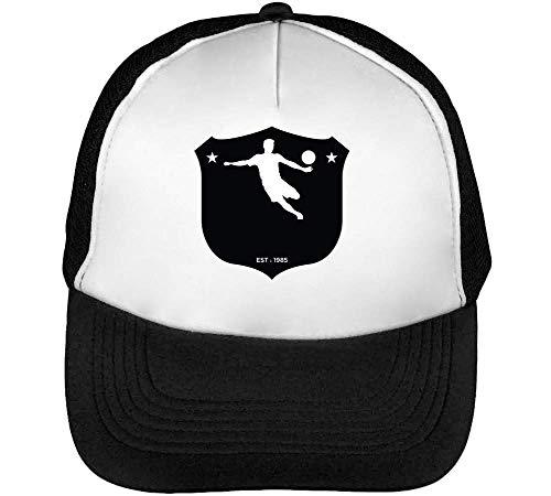 Beisbol Badge Est Negro Sport Blanco Gorras Snapback Soccer Hombre YHvxwp