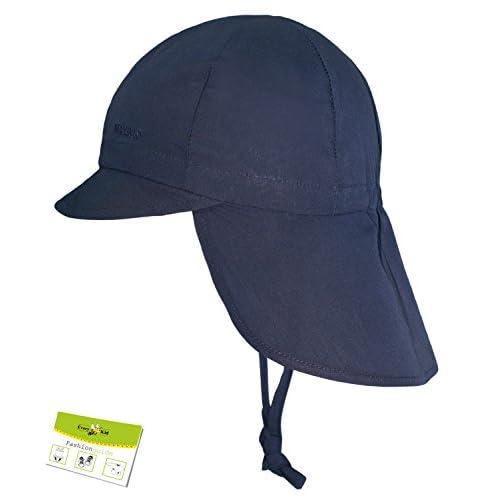 f202ae503 Buena Maximo Sombrero De La Protección Del Cuello Uv Gorros Con Cintas  Unión Casquillo Niñas Niño