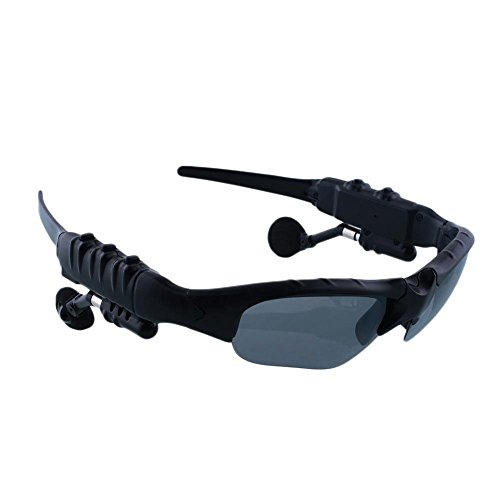 Cewaal Wireless Bluetooth Sunglasses Polarized Stereo Headset Headphone Mp3 Player