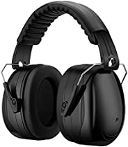 Noise Reduction Safety Earmuffs, NRR 28dB Noise Protection Shooting Earmuffs, Hearing Protection Ear Muffs, Fo