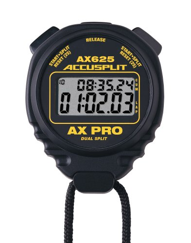 ACCUSPLIT AX625 PRO Cumulative/Lap Split Stopwatch