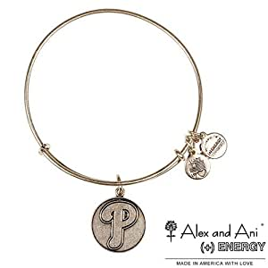 Philadelphia Phillies Expandable Wire Bangle by Alex and Ani