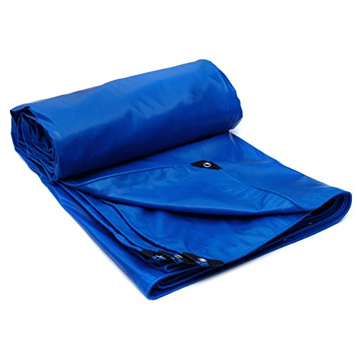 LIANGJUN Tarpaulin Polyvinyl Chloride Thickening Double-sided Available Waterproof Insulation Outdoor Cover Cloth 520g/m², 5 Colors (Color : 1#, Size : 3X4m)