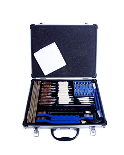 Gunmaster 63pc Deluxe Universal Select Gun Cleaning Kit in Aluminum Case