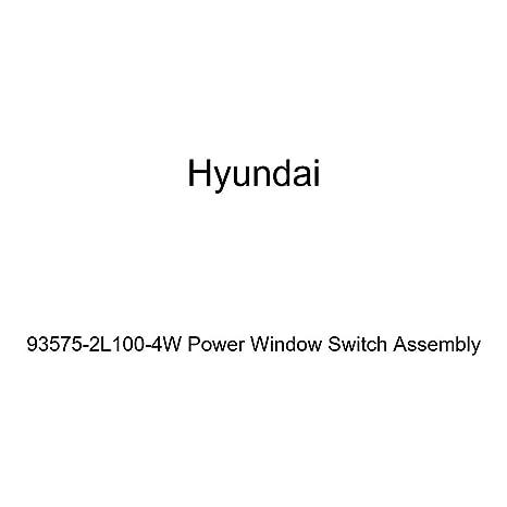 Genuine Hyundai 93575-2L100-4W Power Window Switch Assembly