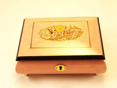 【半額】 Made In Italy Sorrentoフローラル高光沢ジュエリー音楽ボックス – ローズ( – Italy Sankyo 18ノート) ローズ( B0753H2XLD, カミゴオリチョウ:0c730669 --- arcego.dominiotemporario.com