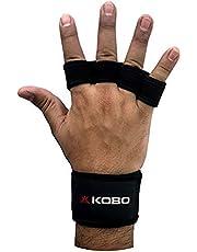 قفازات صالة الألعاب الرياضية لرفع الأثقال من النيوبرين WTG-18 من كوبو، مقاس متوسط (أسود)