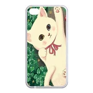 Custom Cat Back Case for iphone4,4S JN4S-104