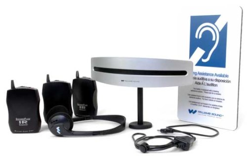 Williams Sound WIR SYS 7522 PRO Mid-Range Infrared System, Front cover can be painted to match décor, Robust digital communication bus between master and slave unit reduces interference by Williams Sound