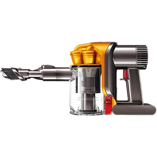 Dyson DC34 Handheld Vacuum, Orange/Iron (Certified Refurbished)