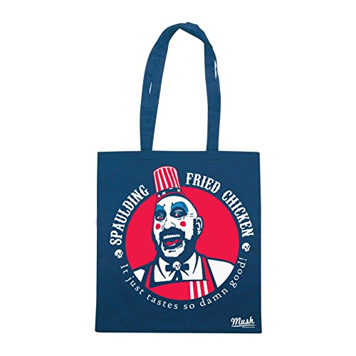 Borsa ROB ZOMBIE CAPTAIN SPAULDING MOVIE - Blu Royal - FILM by Mush Dress Your Style