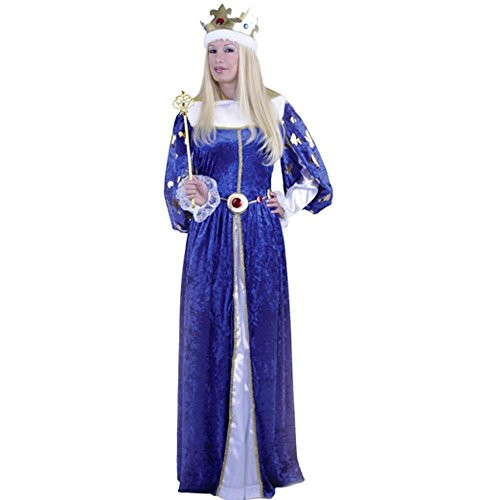 Adult Queens Gown Costume Size: Women's Small 5-7 (Queens Gown Adult Costume)
