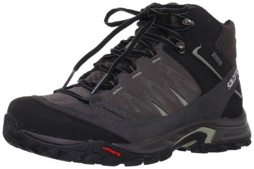 Zapatillas de senderismo Salomon Eskape gris/negro para hombre 2014 Gris/Negro