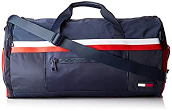 Tommy Hilfiger Men's Sport Signature Tape Convertible Duffel Bag Sport Signature Tape Convertible Duffel Bag, Corporate, 4.40 x 54.60 x 36.60 cm