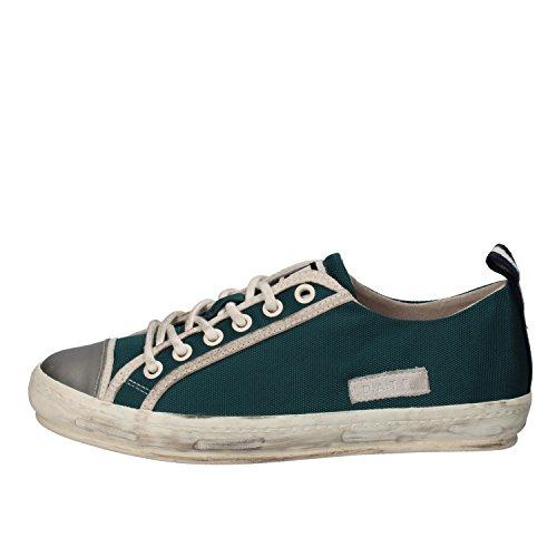 D.A.T.E. , Damen Sneaker Verde/argento