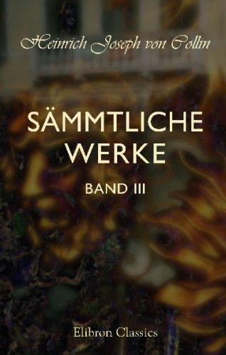 Download Sämmtliche Werke: Band 3 (German Edition) PDF