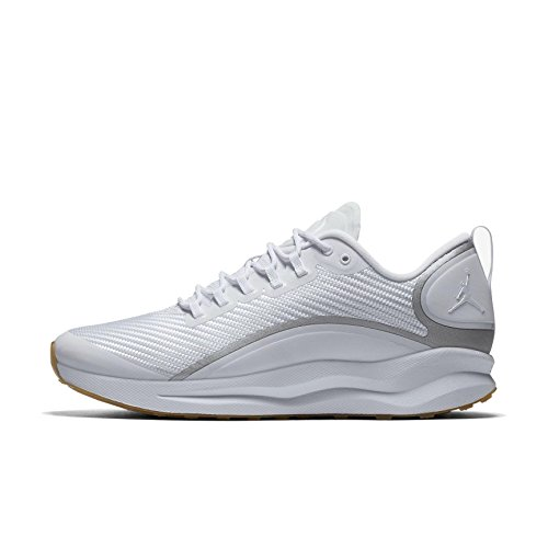 Nike Air Jordan Zoom Tenacity Mens Basketball Trainers AH8111 Sneakers Shoes (UK 11 US 12 EU 46, White Gum Light Brown 115)