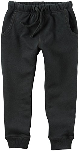 Carter's Baby Boys Knit Pant, Black, 3 Months